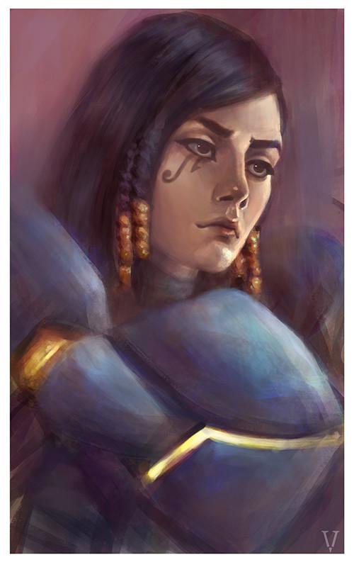 Eugenia vorontsova pharah overwatch by vertry daifhku