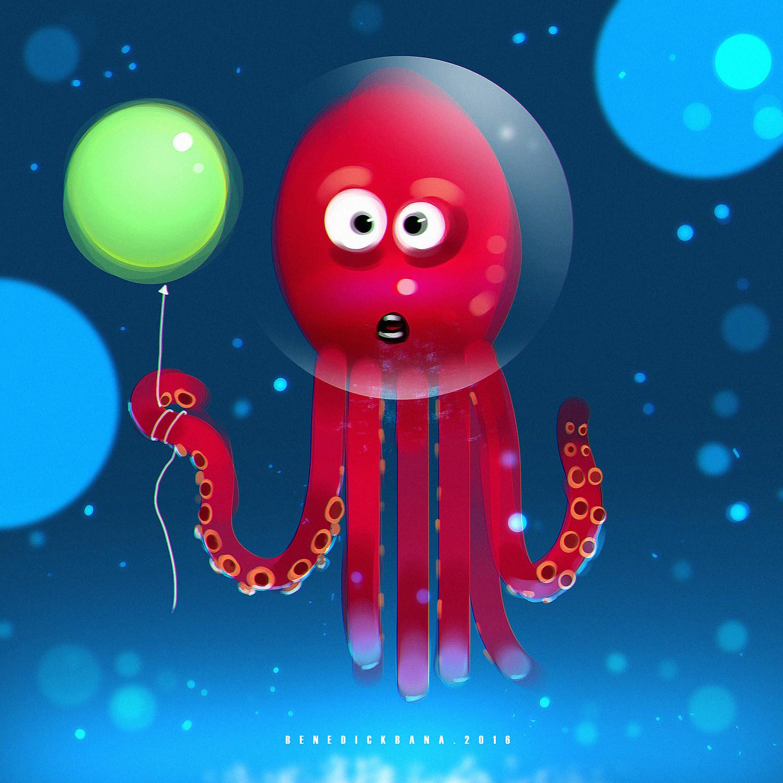 Benedick bana octopus2 lores