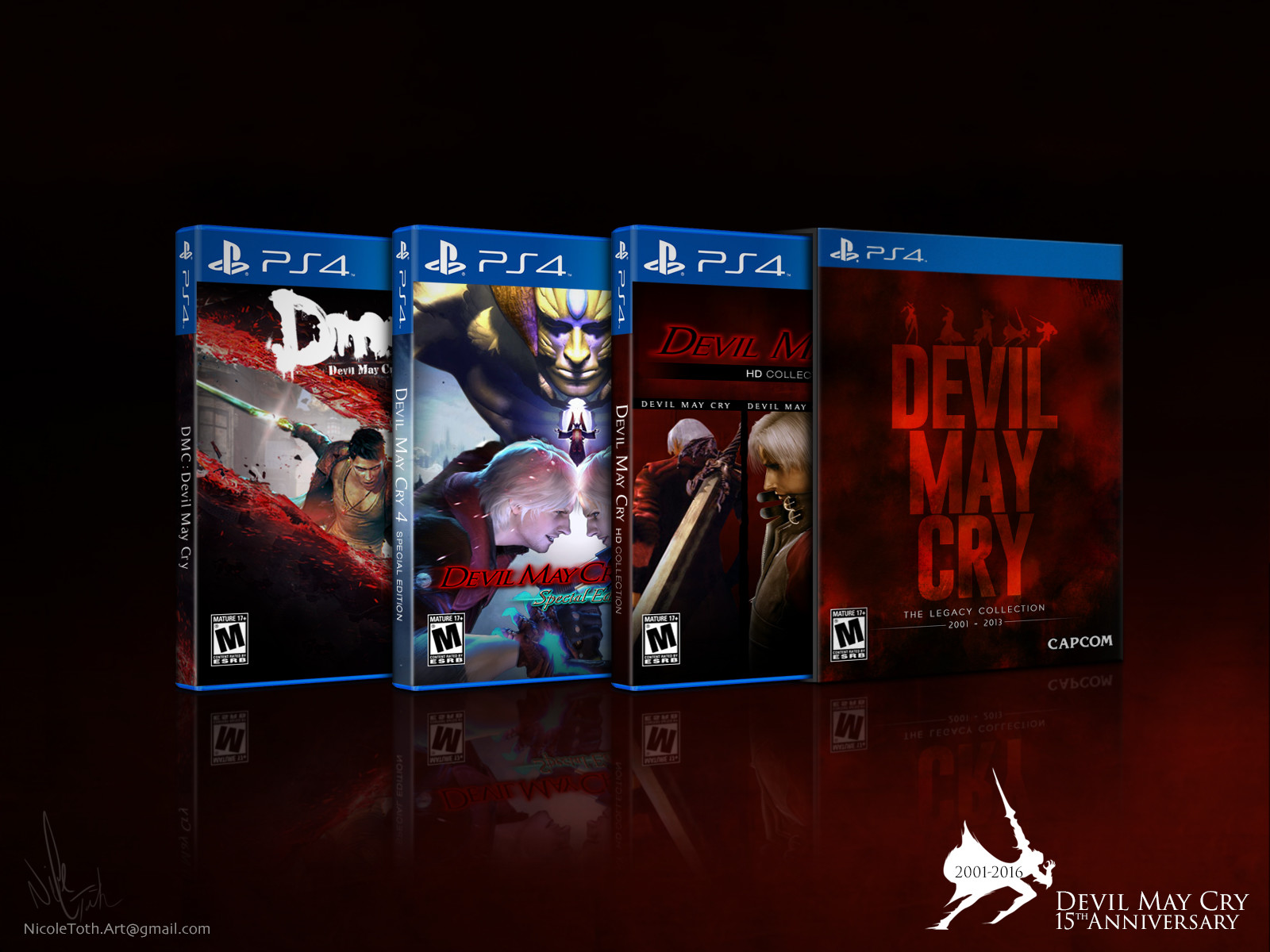 Nicole Toth Dmc Legacy Collection Finished Nintendo Switch