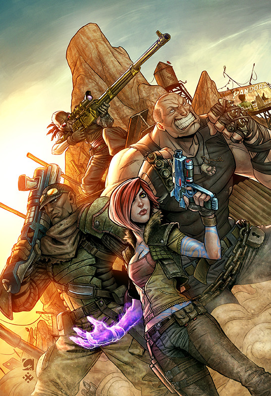 Xabi gaztelua borderlands cover low