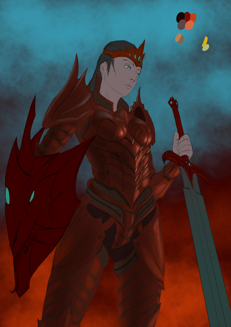 Robert crescenzio dragon princess 03