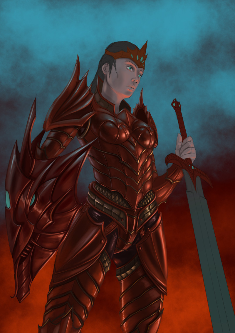 Robert crescenzio dragon princess 05