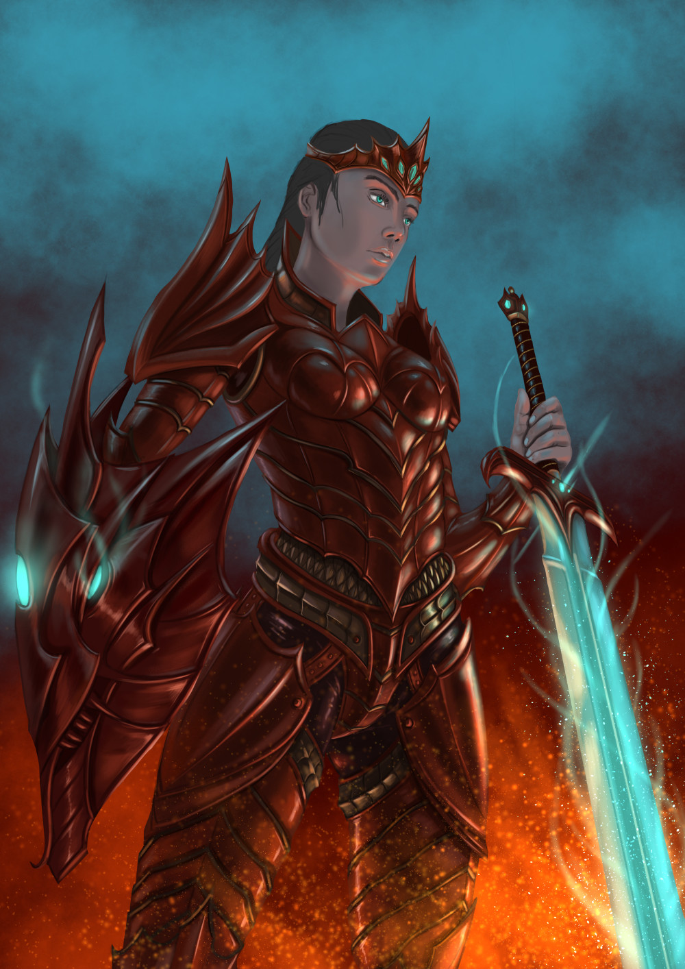 Robert crescenzio dragon princess 07