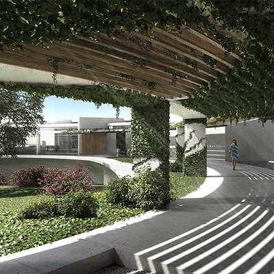 Play time architectonic image oab house in sotogrande