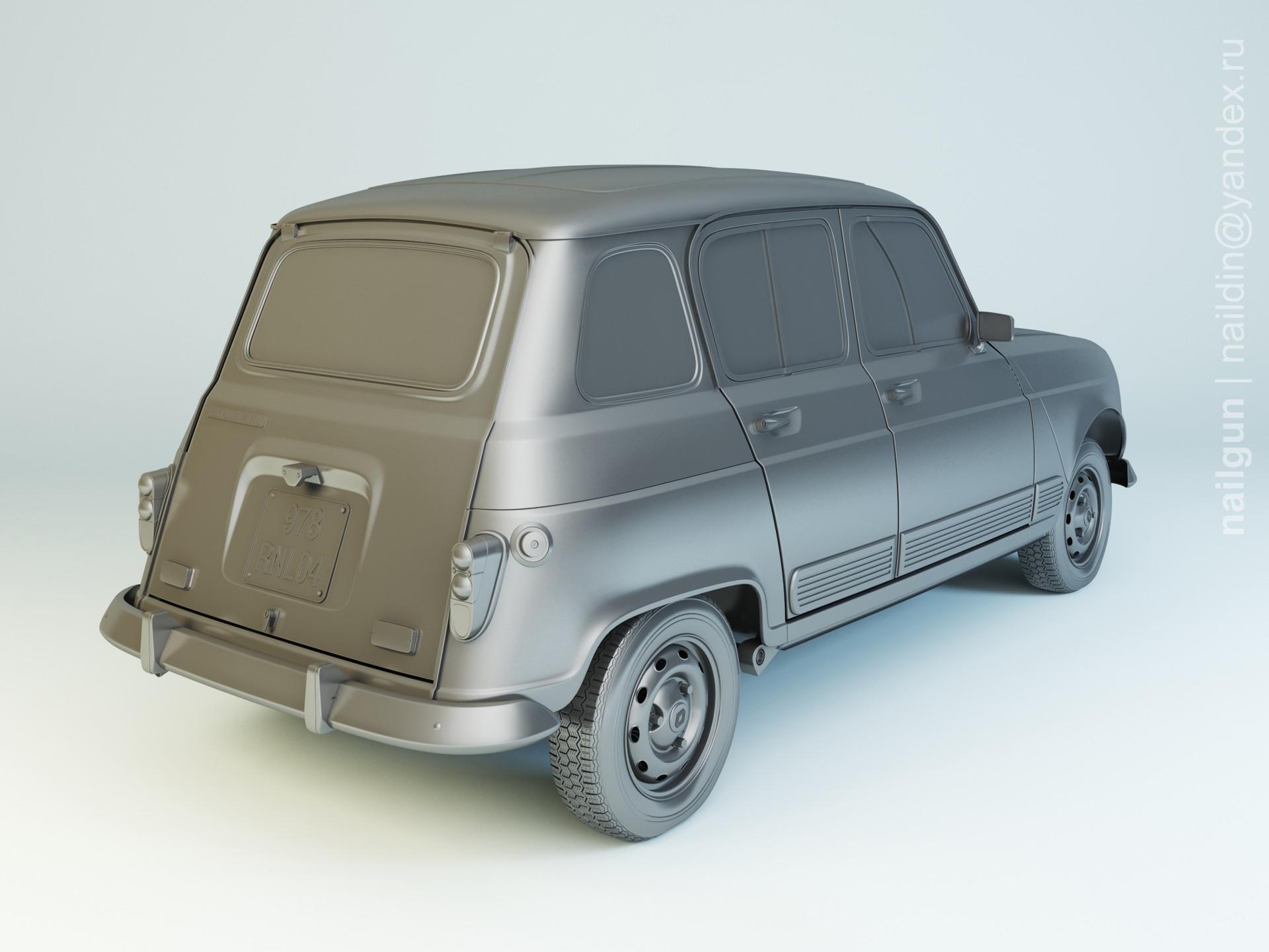 Nail khusnutdinov pwc 076 004 renault 4 modelling 1