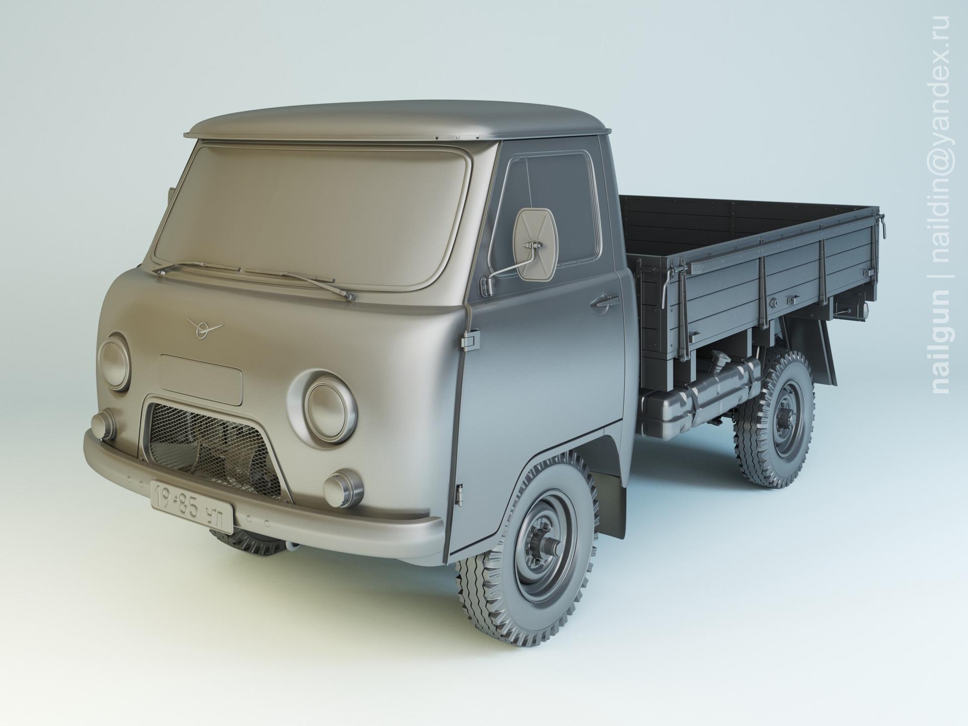 Nail khusnutdinov al 101 008 uaz 3303 modelling 0