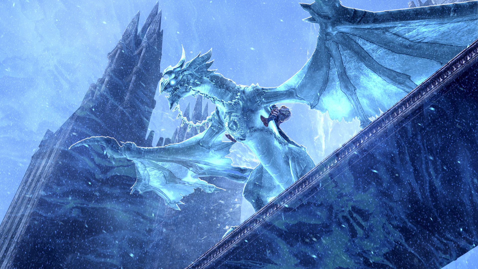 картинки с призрачными драконами стиль