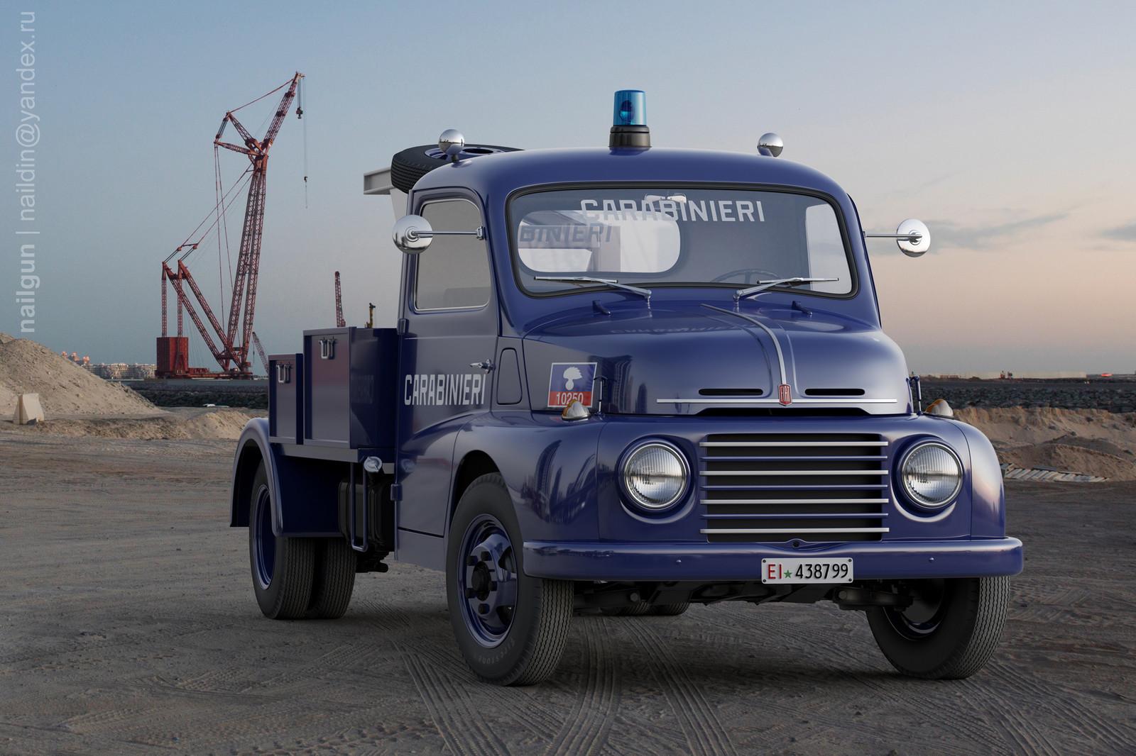 FIAT-615 N Asistenza