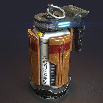 2016 - SciFi grenade