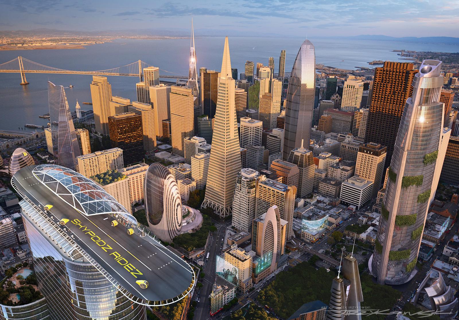 Futuristic San Francisco