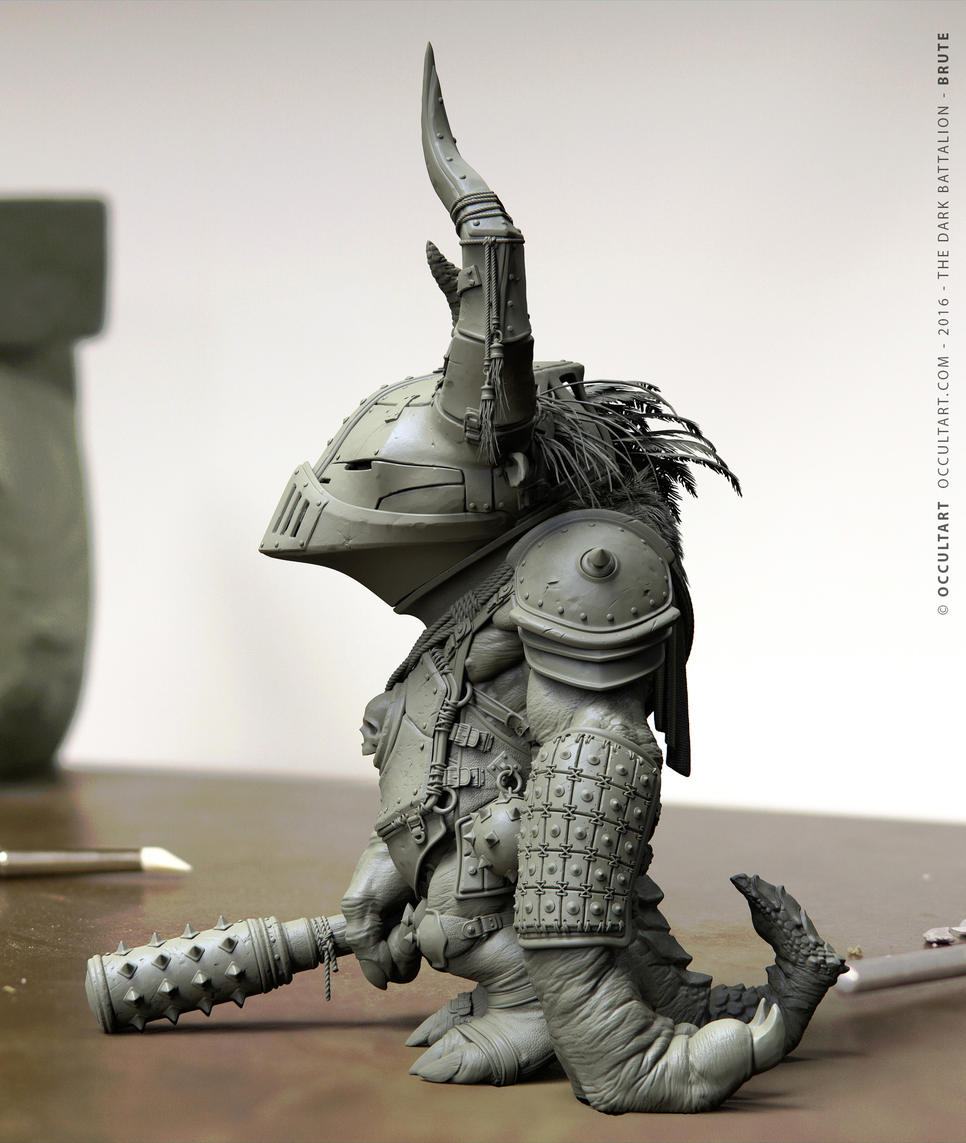 Occultart   the dark battalion brute 24
