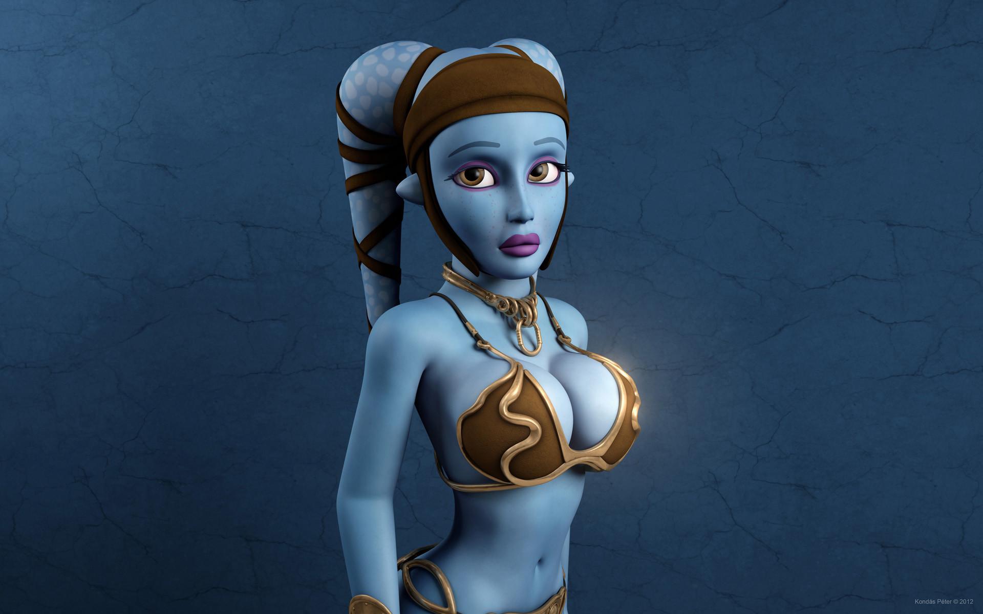 Aayla Secura naked 677
