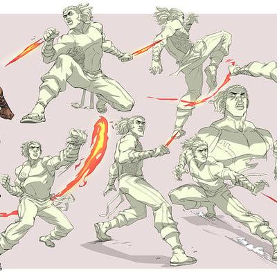 Ifesinachi orjiekwe balogun action pose sheet