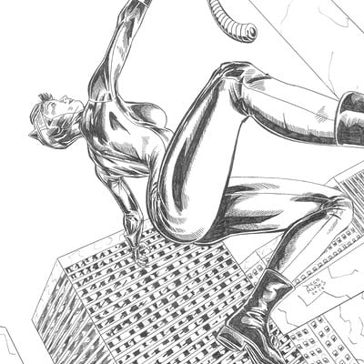 Diego mendes now 2016 06 20 pin up catwoman p diego mendes