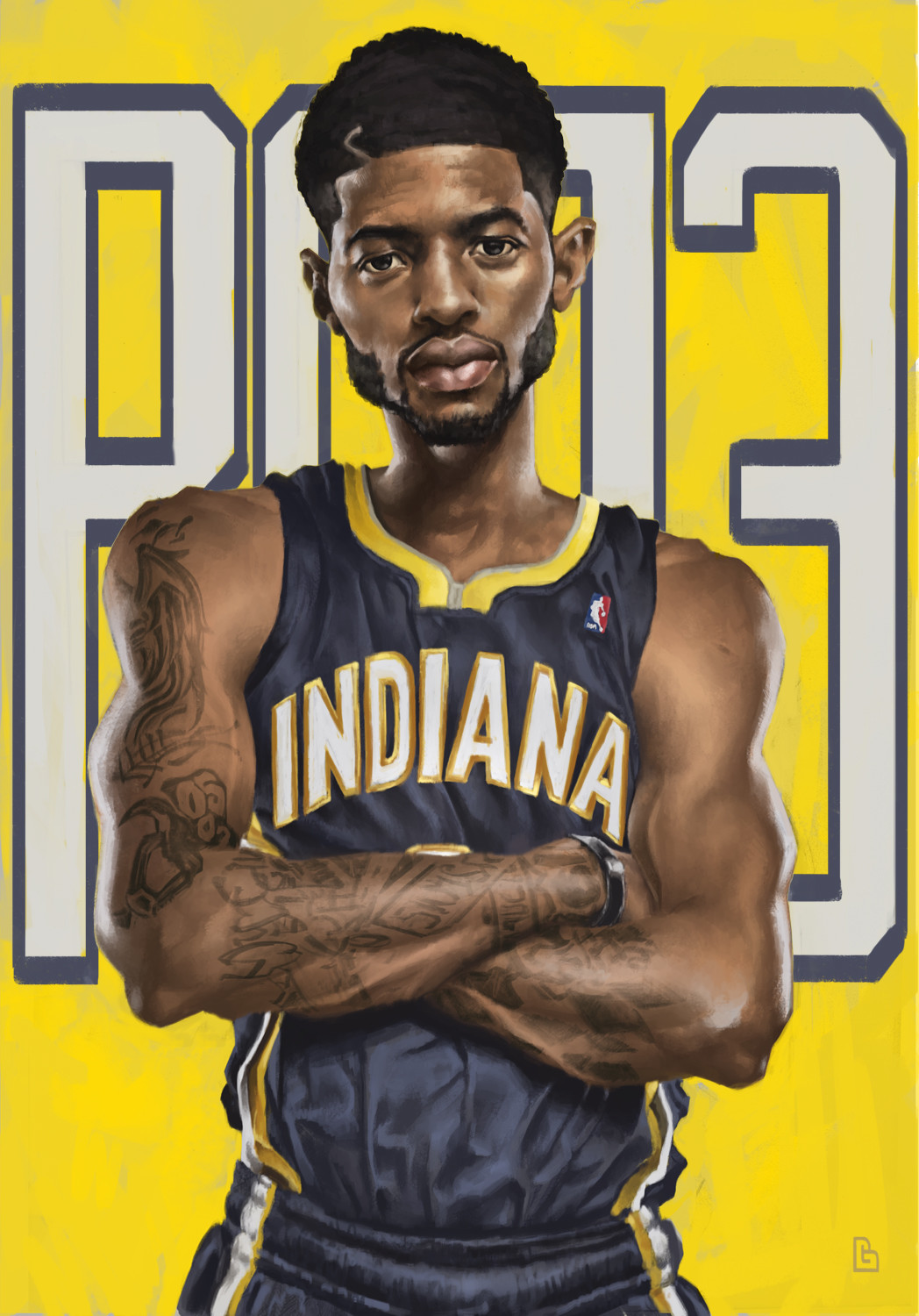 Tony gbeulie paul george wip10