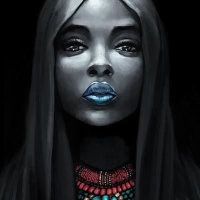 Godwin akpan african face