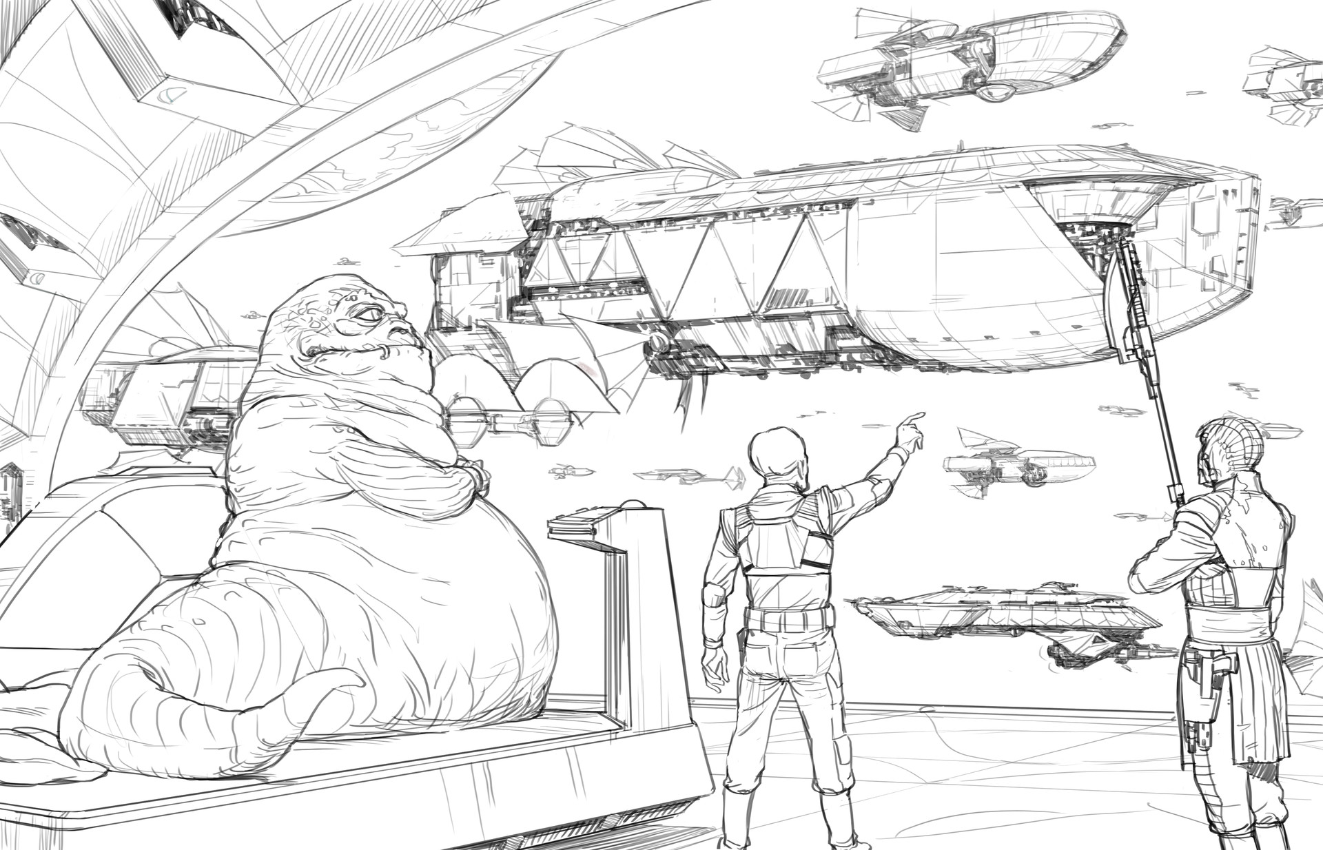 Darren tan hutt fleet sketch da