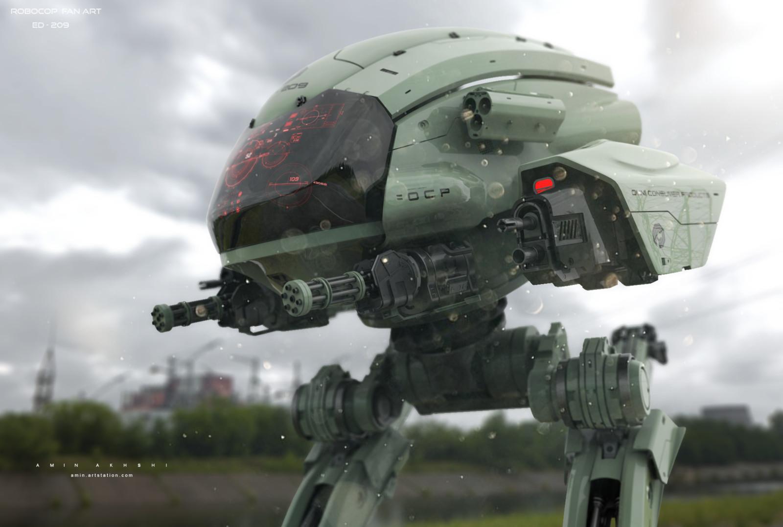 Robocop fan art - ED-209
