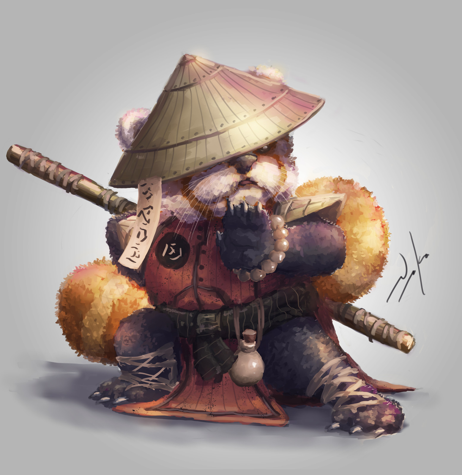 Red Panda Kung Fu