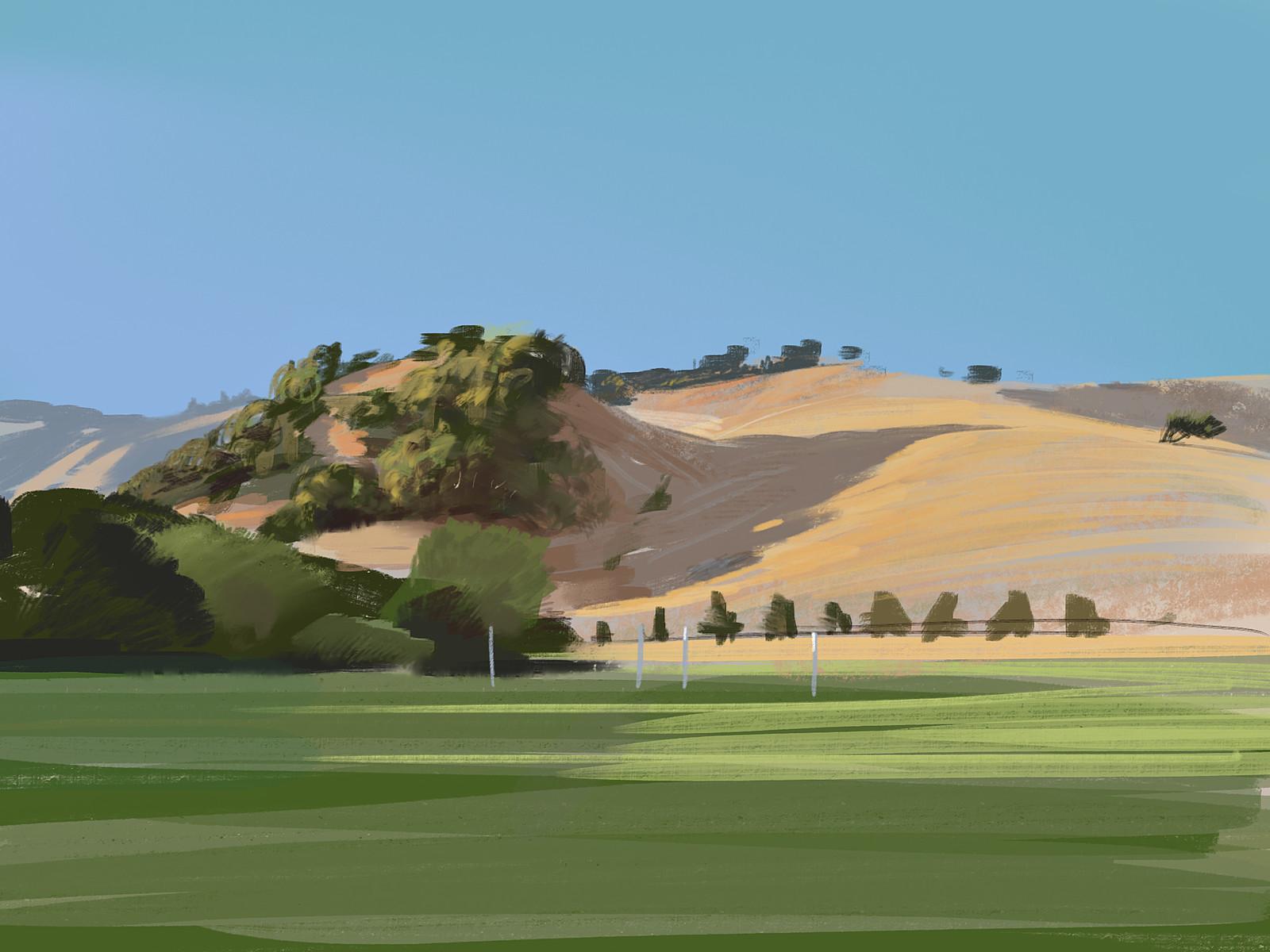 Hills, Skywalker Ranch, California (2014)