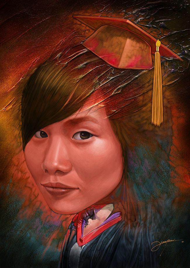Dot line surface art studio beststudent female