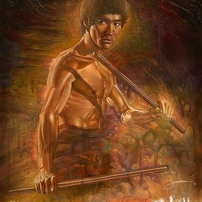 Dot line surface art studio bruce lee all new