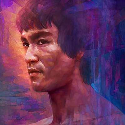 Dot line surface art studio brucelee