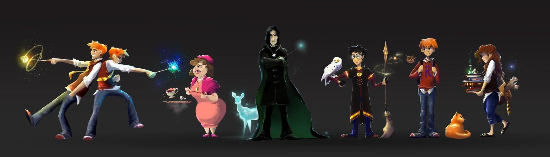 Character Design Challenge Harry Potter : Artstation harry potter character design challenge