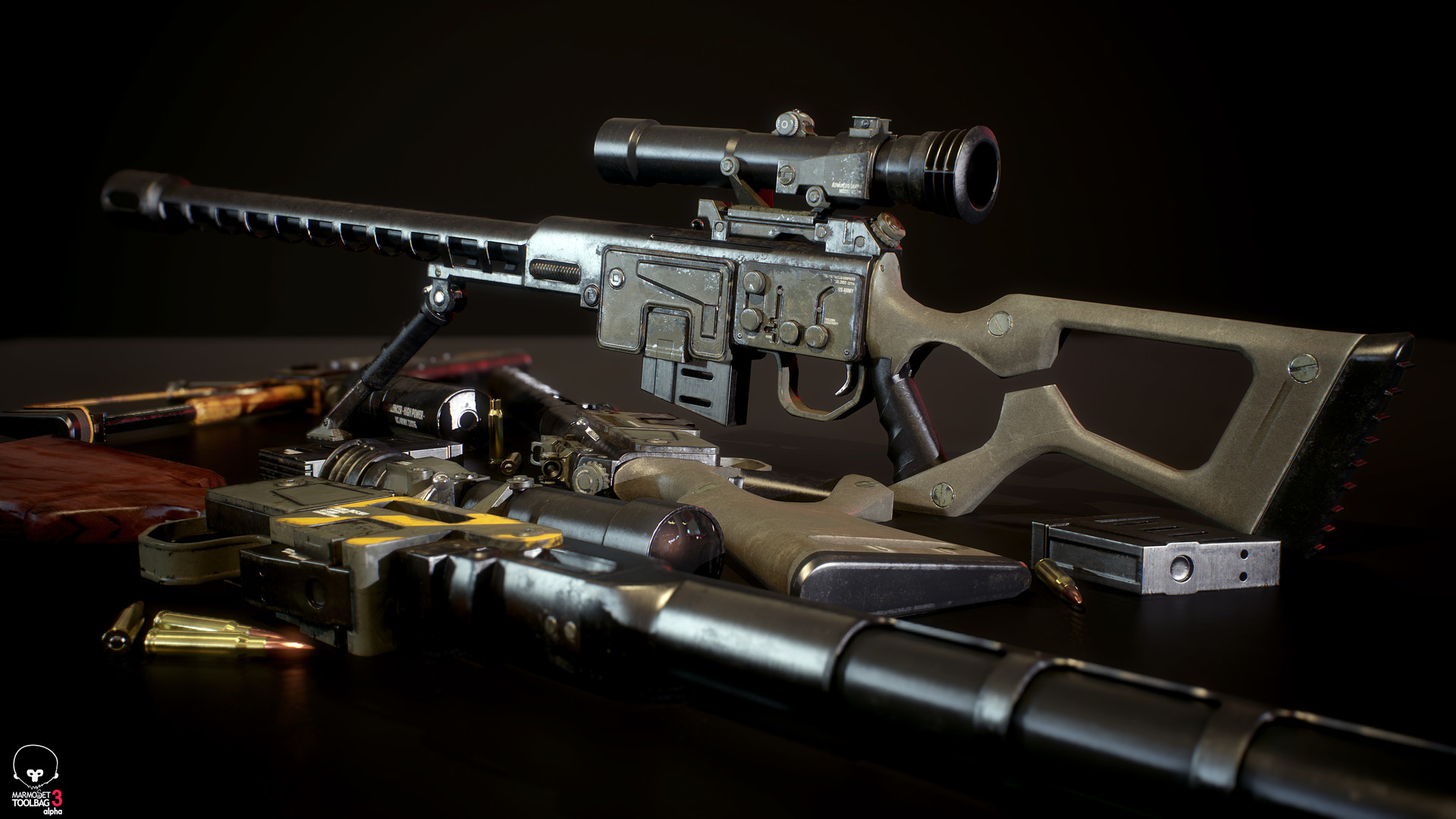 Ben bickle fallout sniper rifle tb3