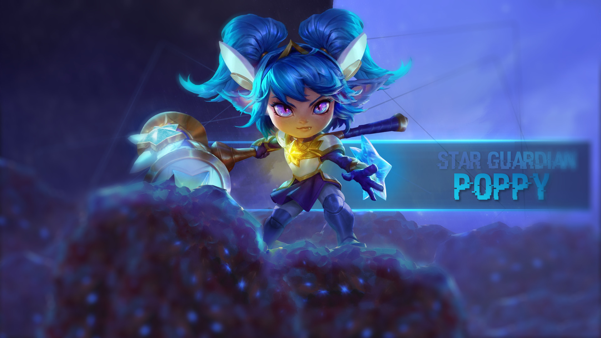 Artstation Star Guardian Skins Poppy Janna Jinx League Of
