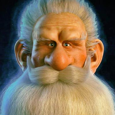 beard guy WIP