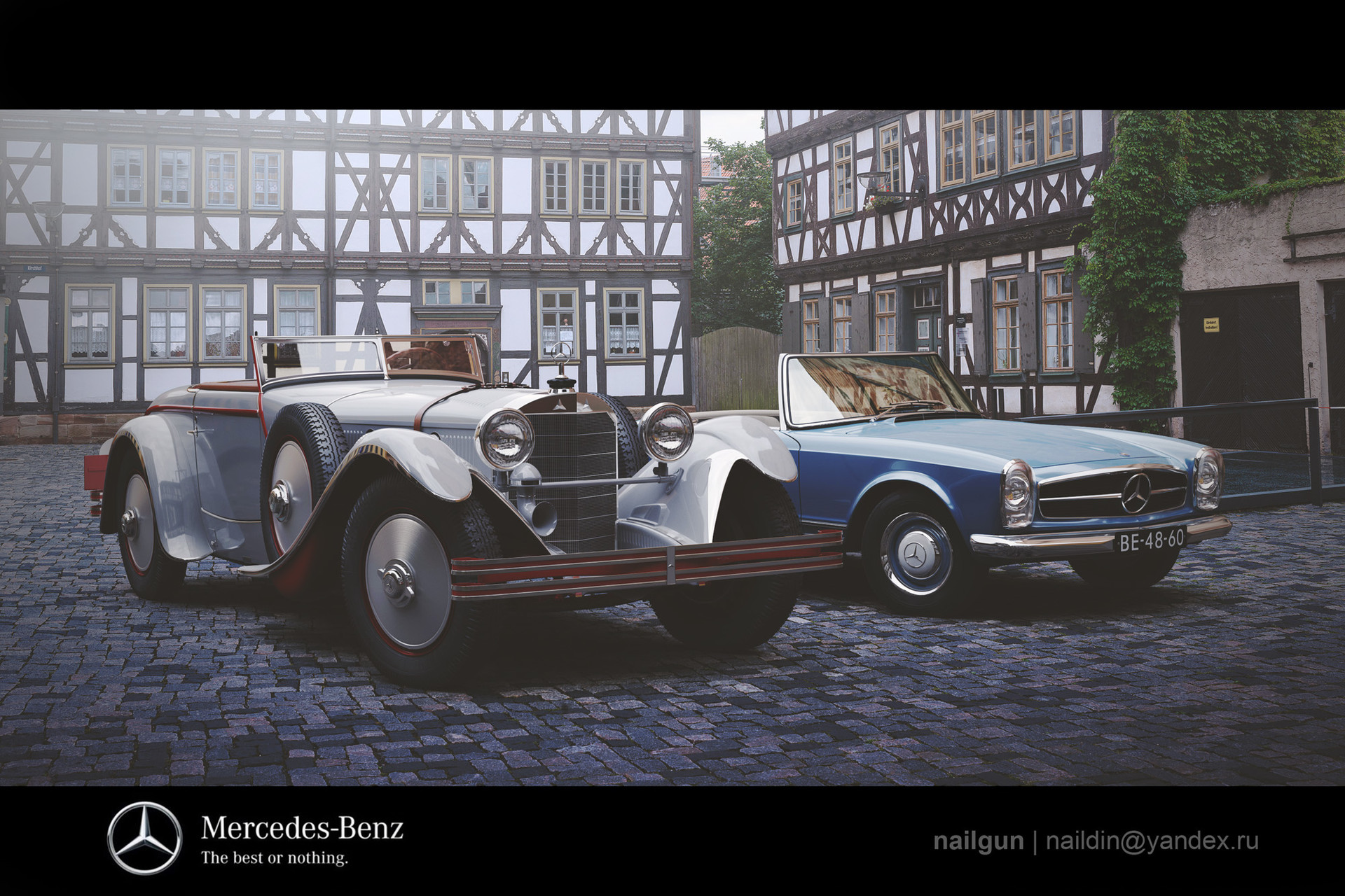 Nail khusnutdinov sk 111 mercedes benz 680s germany duo post