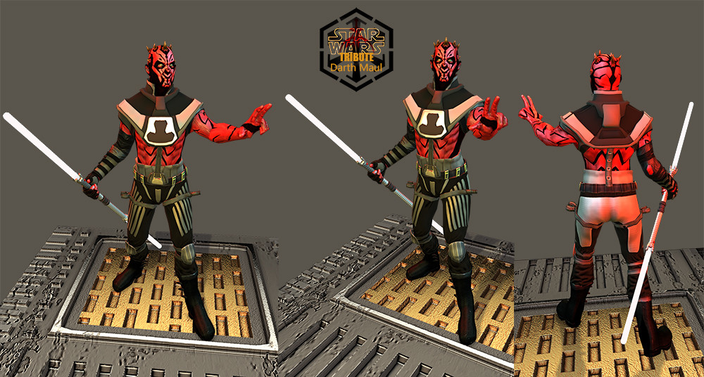 Darth Maul Redesign