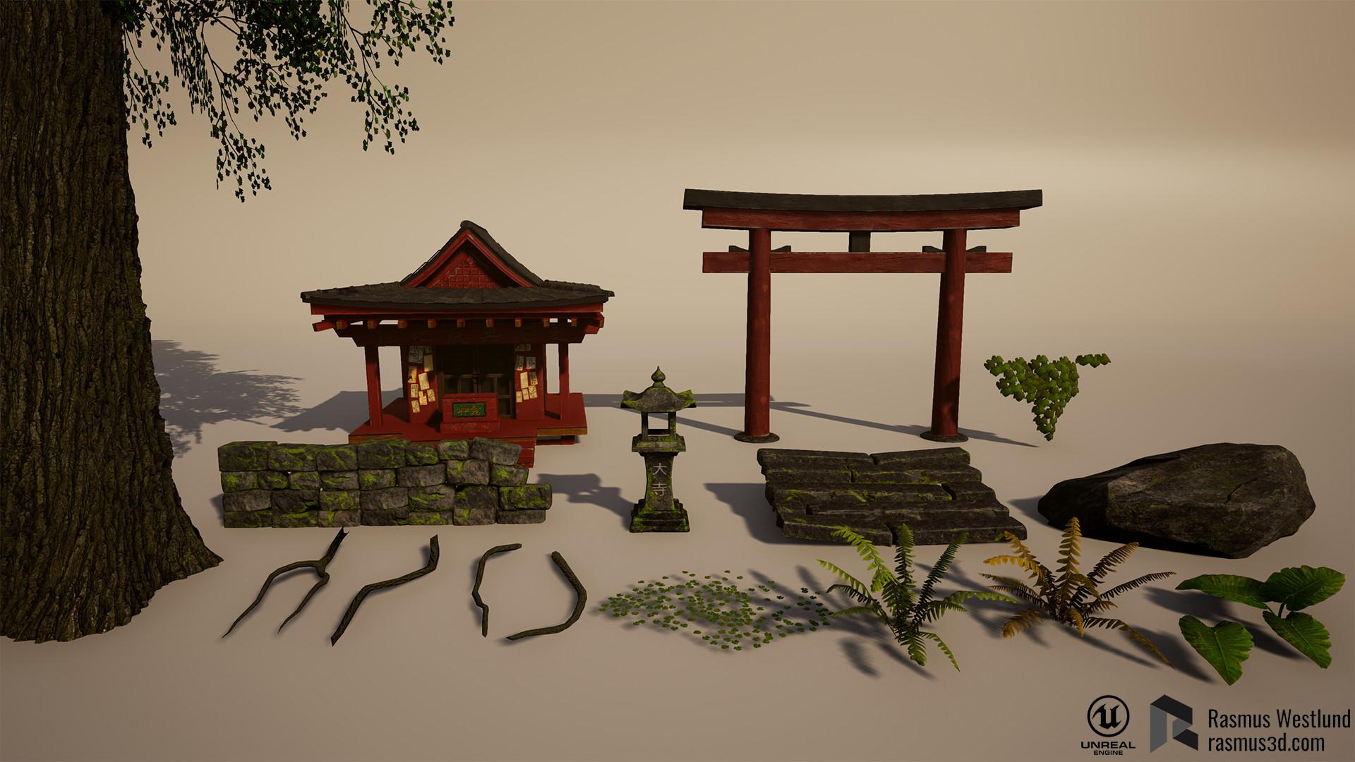 Rasmus westlund japanese shrine04