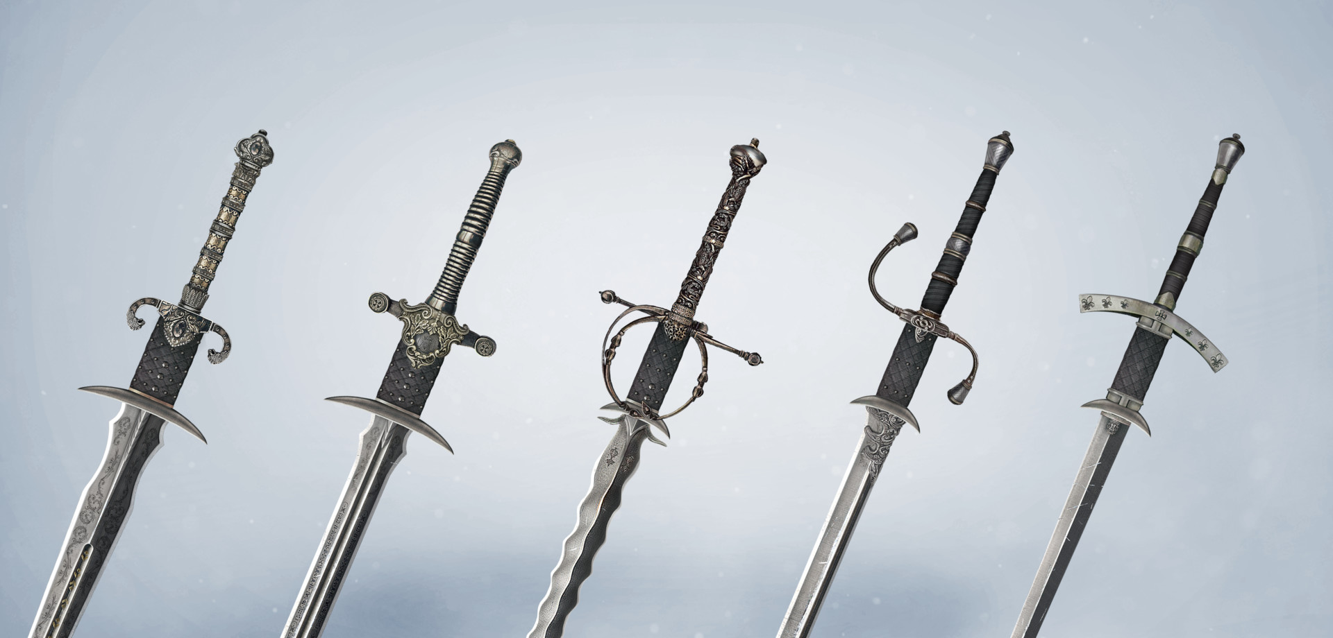 George k swords progress main line behance 4