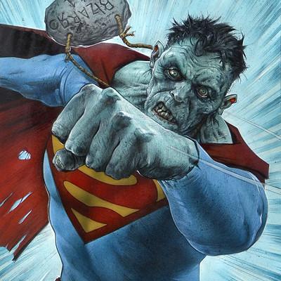 Greg staples bizarro superman