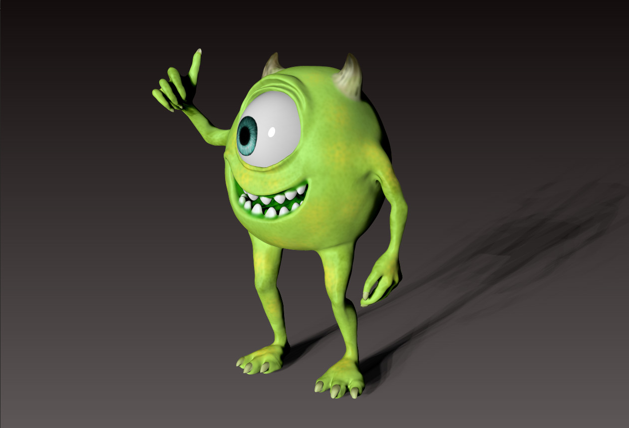 orza raluca - pixar - monster inc