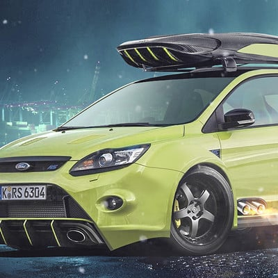 Andre camacho design ford focus