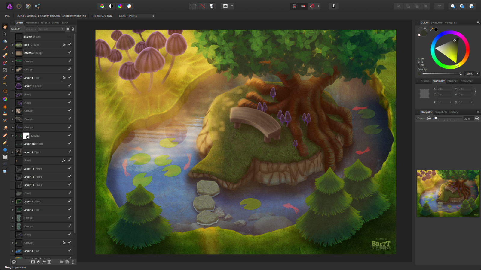 Process Step 3 - Final Details, Textures, Photo Bashing and Light Effects