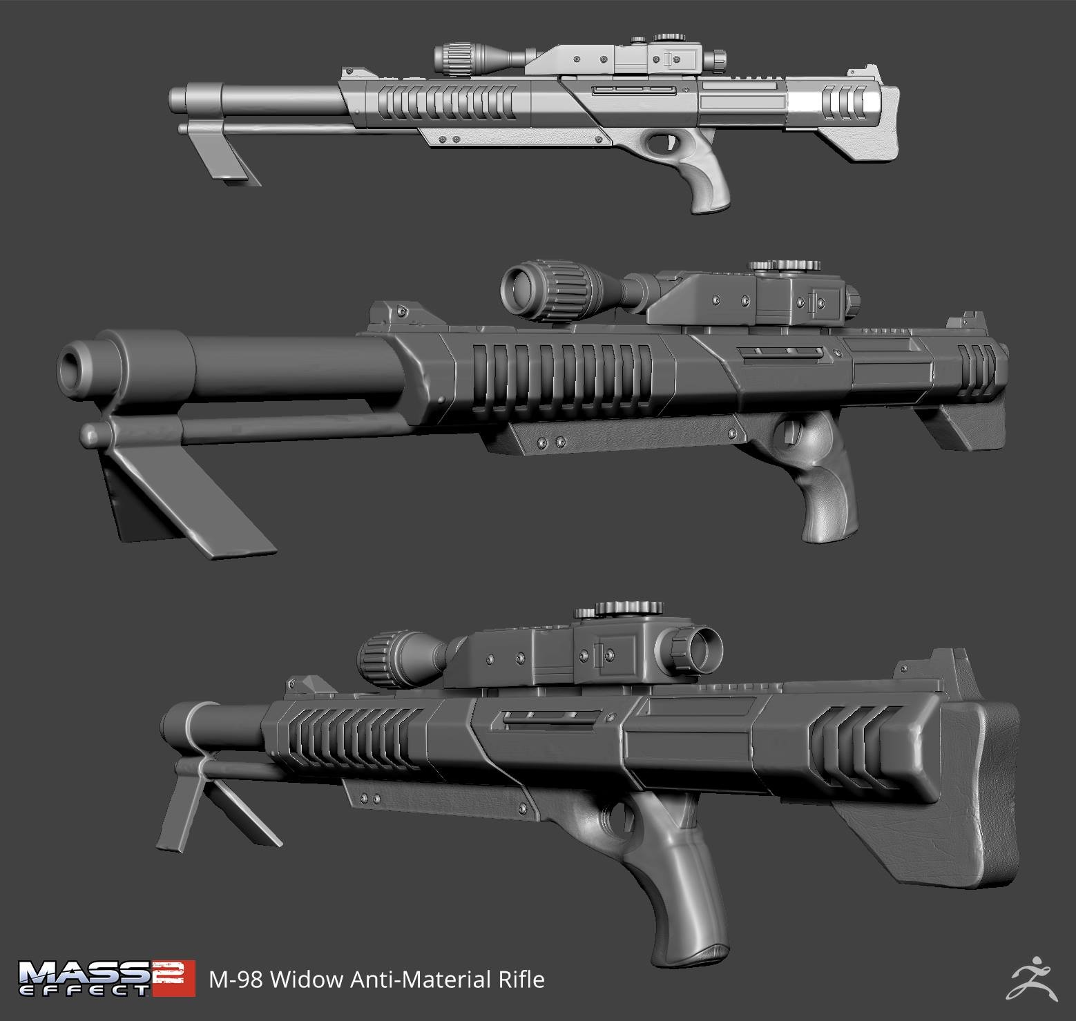 Mass Effect M97 Rifle