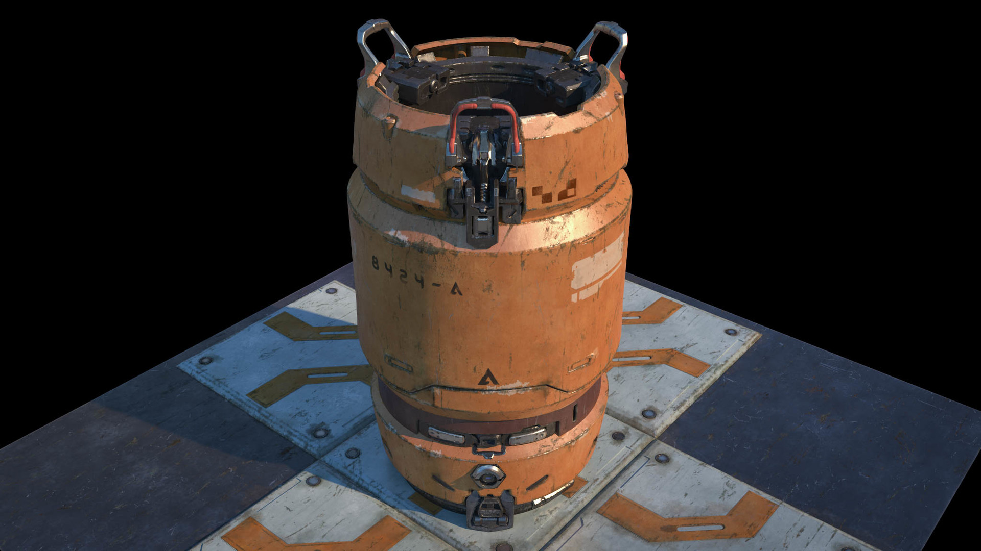 Koushik routh halo 5 barrel lookdev v04