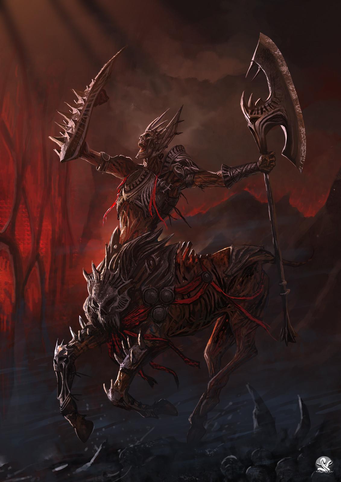 Undead Centaur