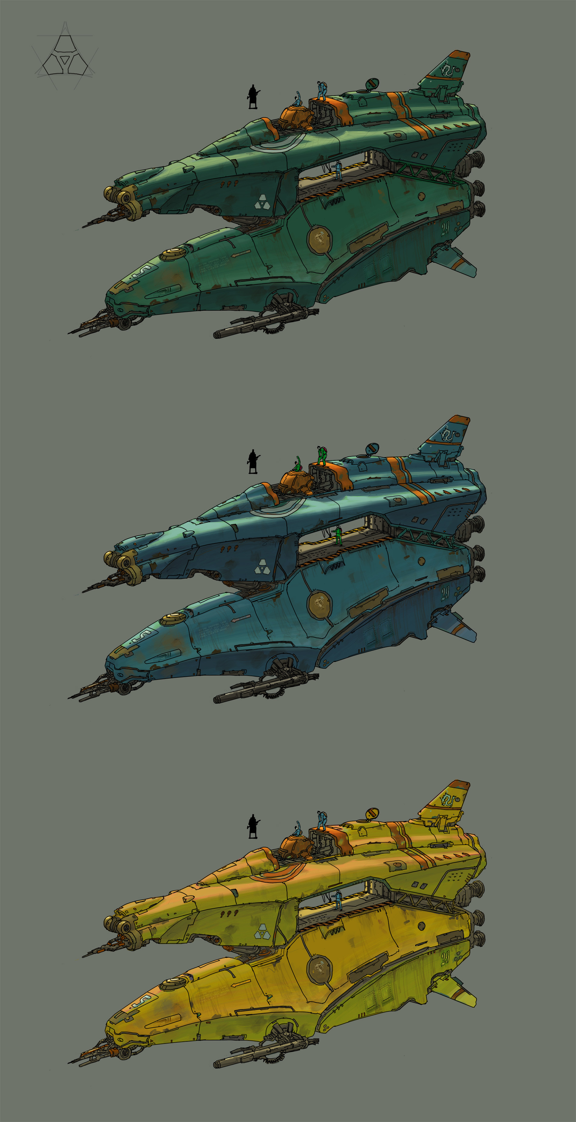 Mark zhang shipfighter2color