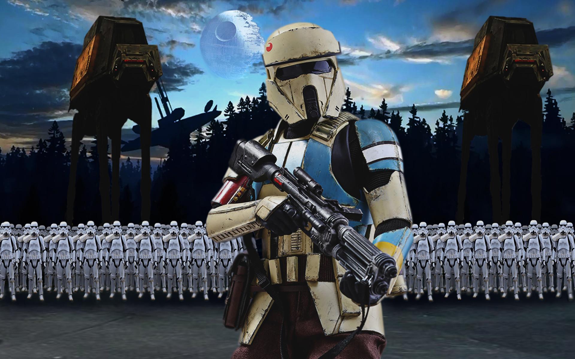 Artstation Star Wars Rogue One The Dark Side Darky Franky Grevioux