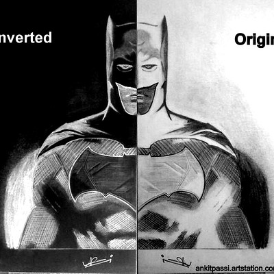 Ankit passi batman bvs inverted