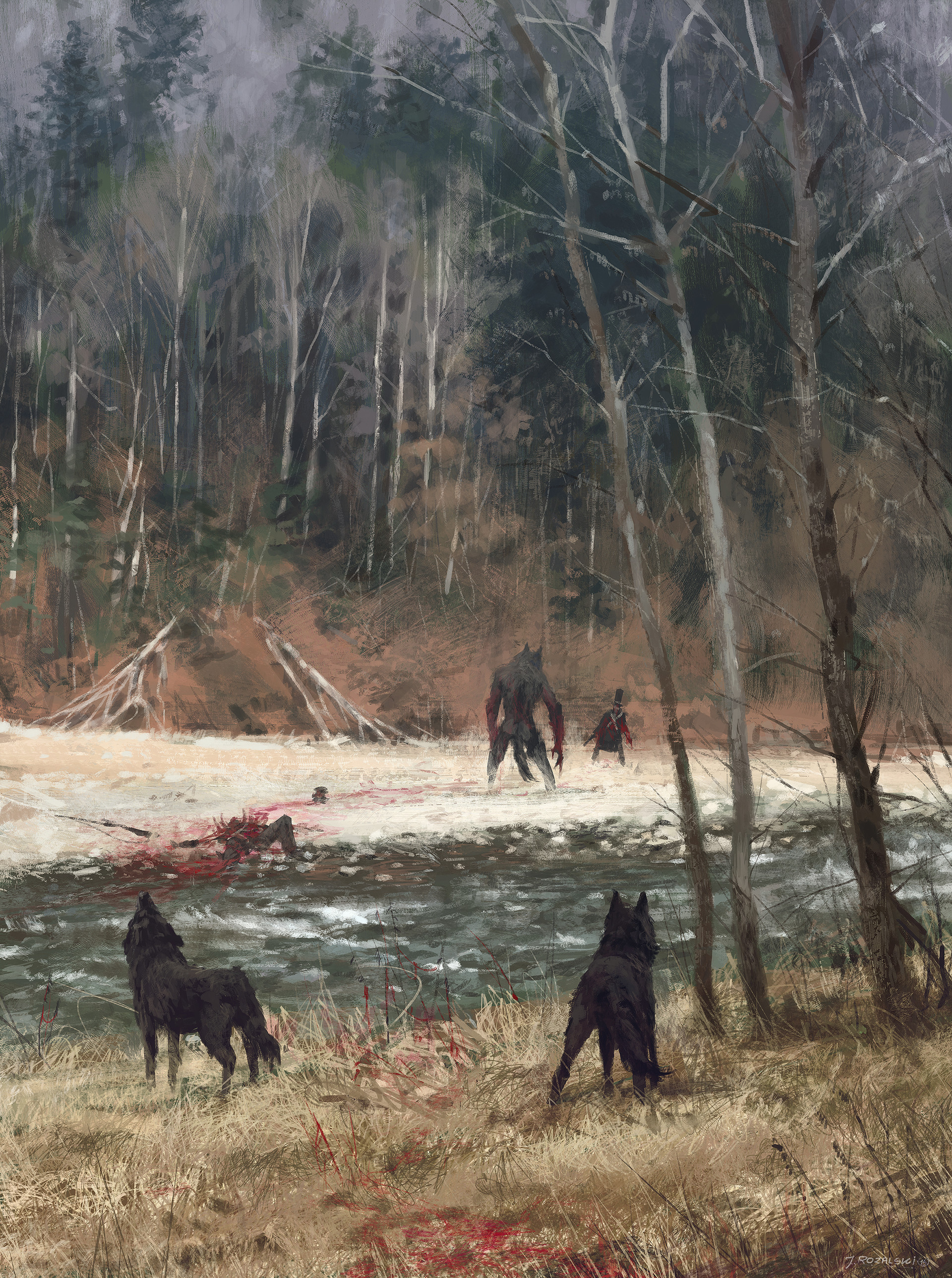 Jakub rozalski colors of autumns1