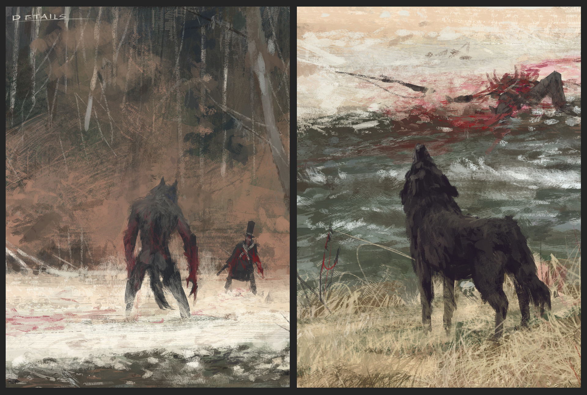 Jakub rozalski colors of autumn process03