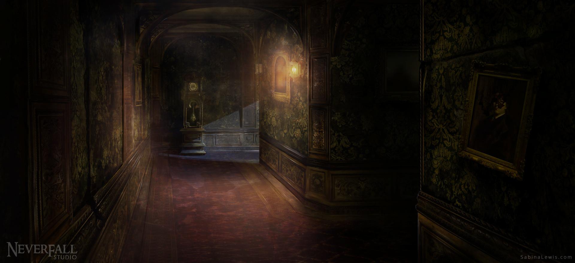 Sabina lewis hallway