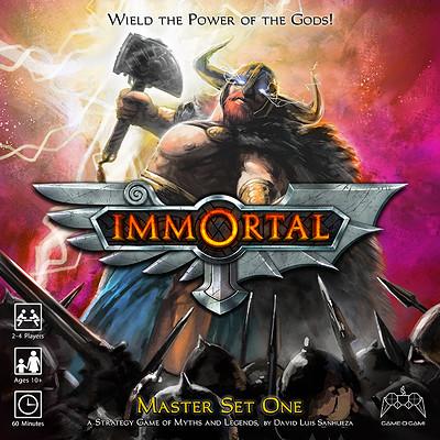David sanhueza game o gami immortal box front final