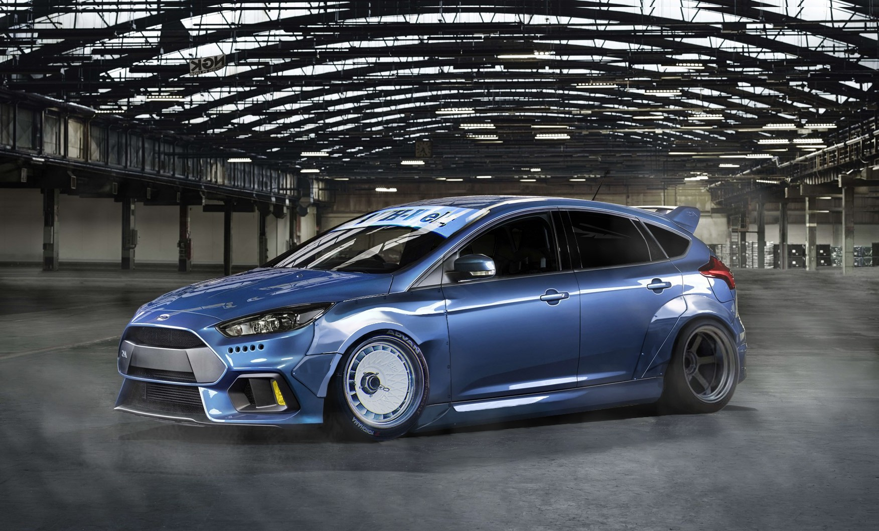 Ford Focus Rs Widebody